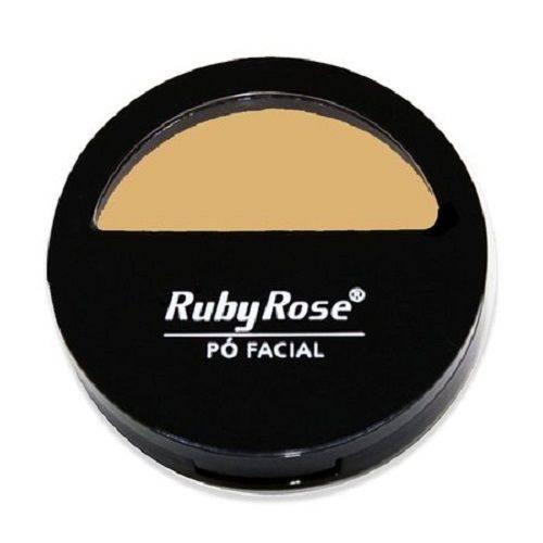 Pó Facial Ruby Rose Hb-7206 Cor - 5 10,5g