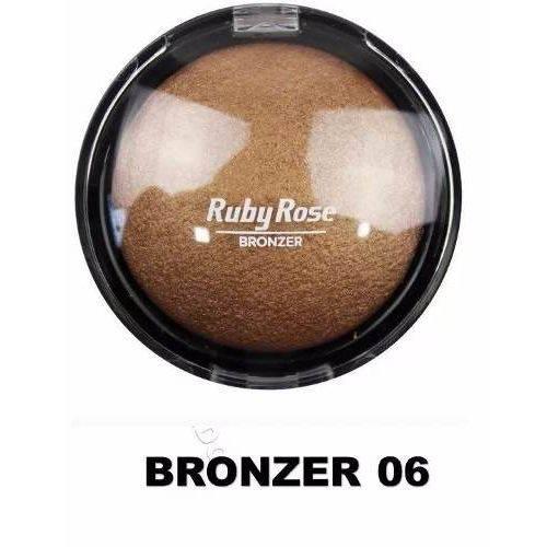 Pó Iluminador Bronzeador Ruby Rose