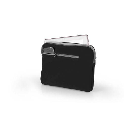 Pocket Case Preto e Cinza para Notebook 14