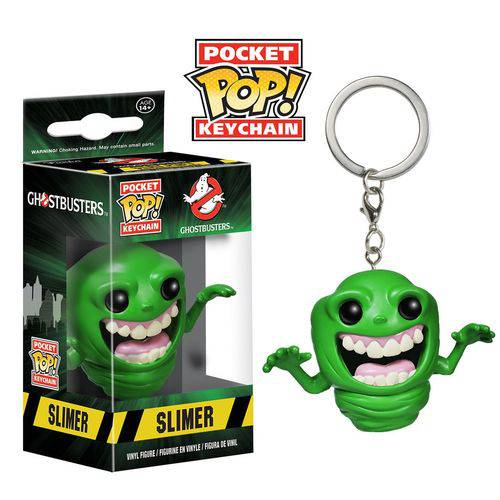 Pocket Pop Keychain Chaveiro Funko - Slimer Ghostbusters