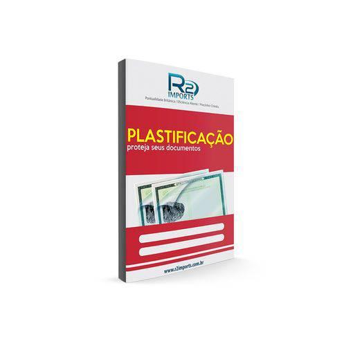Polaseal Plástico para Plastificação de Identidade 0,05 PT