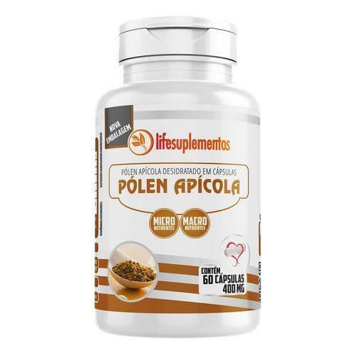 Pólen Apícola Desidratado - 60 Cáps. - 400 Mg