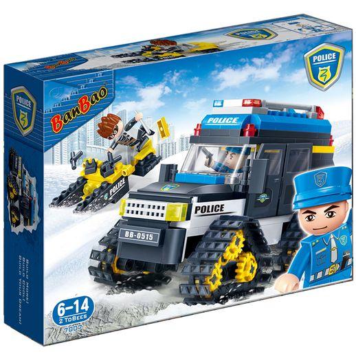Polícia Carro de Neve 315 Peças - Banbao