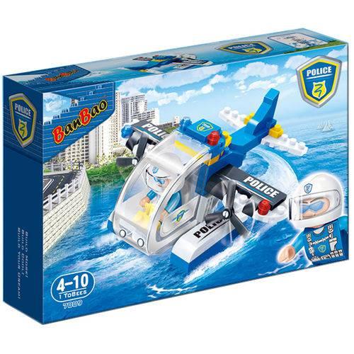 Polícia Hidroavião 112 Peças - Banbao