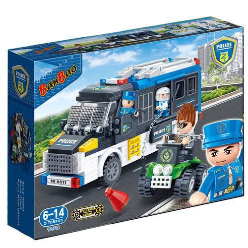 Polícia Van Polcial 325 Peças - Banbao