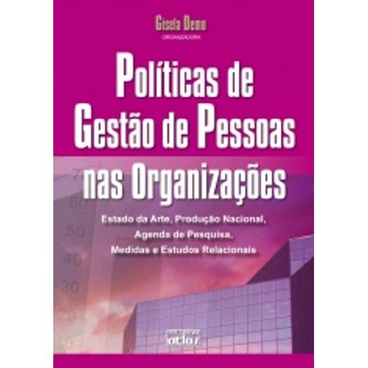Políticas de Gestão de Pessoas Nas Organizações