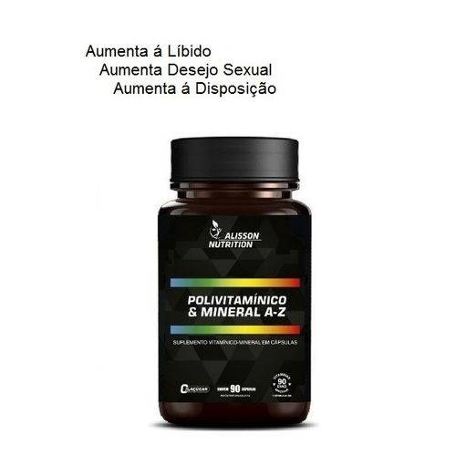 Polivitaminico Mineral 90 Cápsulas ALISSON NUTRITION