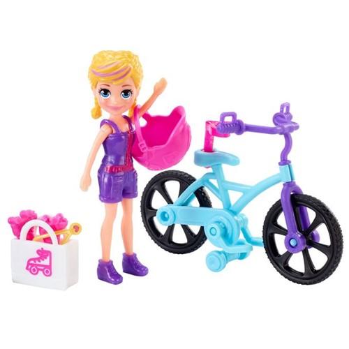 Polly Pocket - Aventura na Bicicleta Gfp94 - MATTEL
