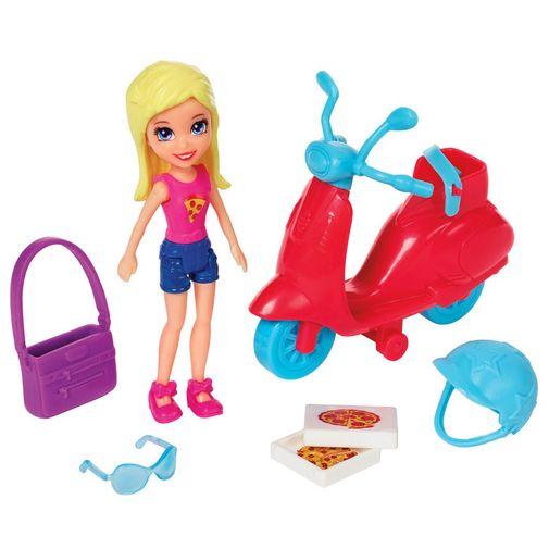 Polly Pocket - é Hora de Pizza Polly - Mattel