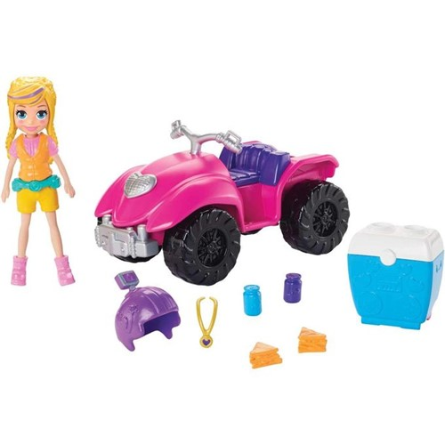 Polly Pocket - Quadriciclo Fabuloso Gdm13 - MATTEL