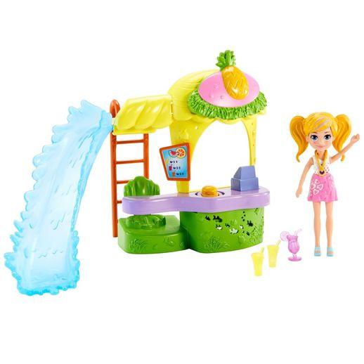 Polly Pocket Quiosque Parque dos Abacaxis - Mattel