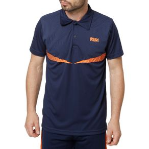 Polo Esportiva Masculina Local Azul M