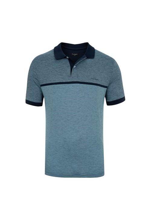 Polo Flamê Azul Premium P