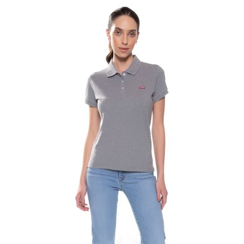 Polo Levis Logo Batwing Classic Woman - S