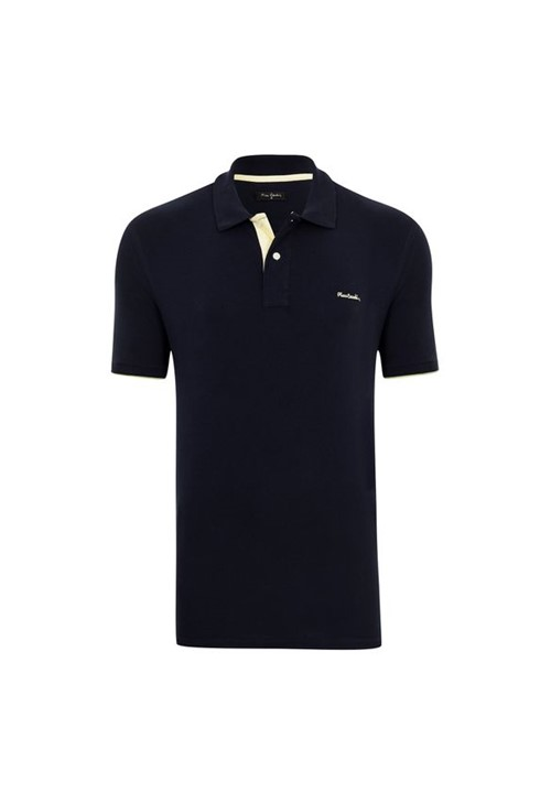 Polo Piquet Marinho Essential P