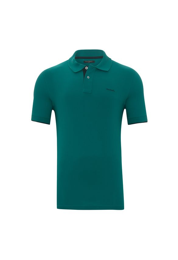 Polo Piquet Verde Floresta P