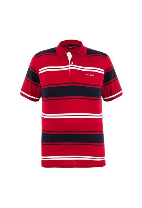Polo Plus Size Vermelha Presence 6