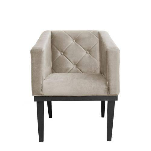 Poltrona Cadeira Decorativa Rafa Corino