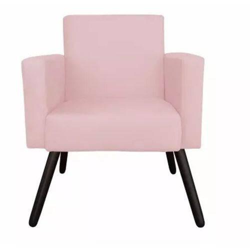 Poltrona Cadeira Nina Corino Rosa Bebê Decoração
