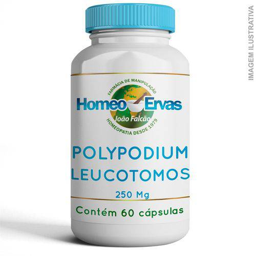 Polypodium Leucotomos 250mg 60 Cápsulas