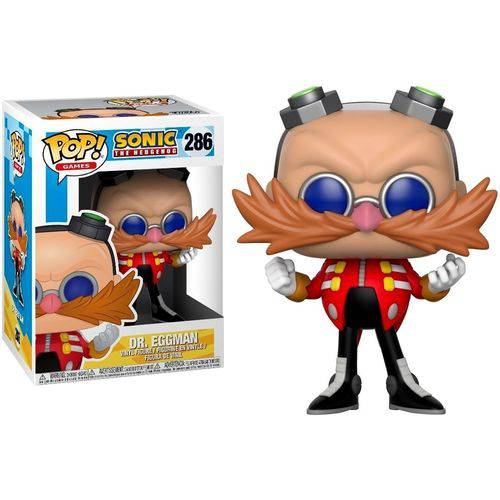Pop Funko 286 Dr. Eggman Robotnik Sonic