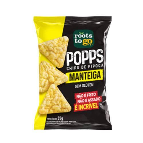 Popps 35g Manteiga - Roots To Go