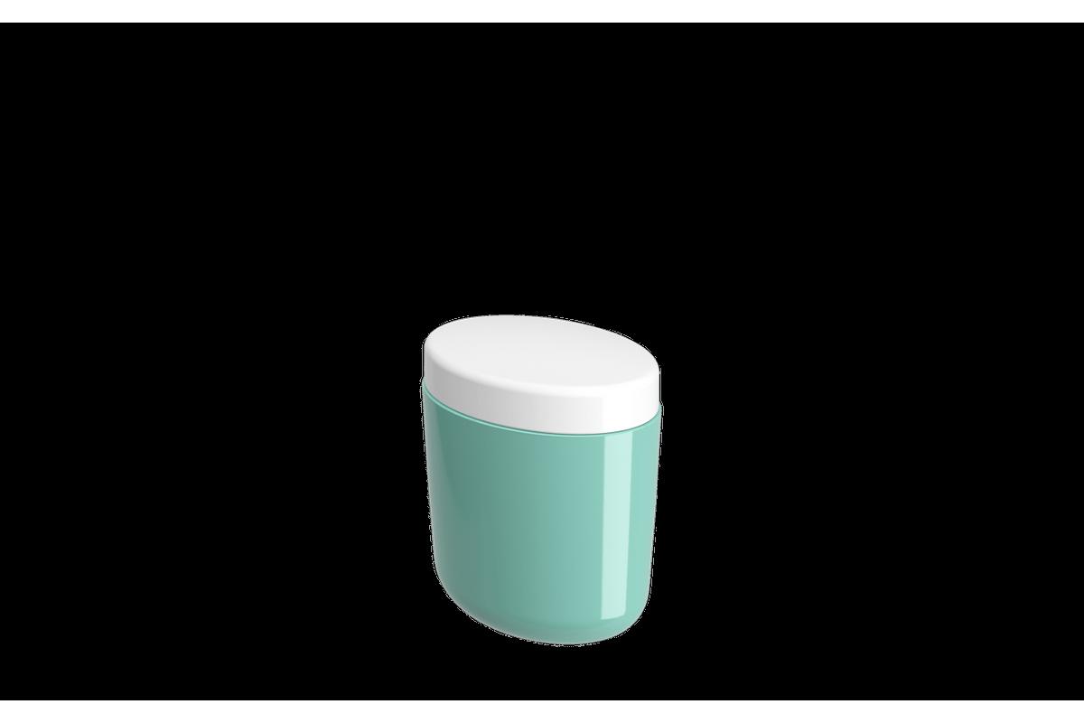 Porta-algodão/cotonete Full - VDE 10,6 X 7,7 X 11,8 Cm Verde Elétrico Coza