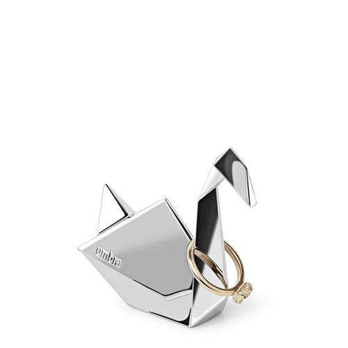 Porta-anéis Origami Cisne Umbra
