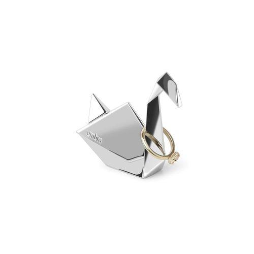 Porta Anel Cisne Origami 7cm