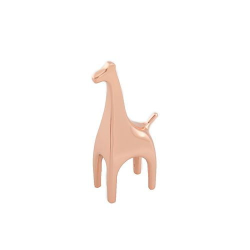 Porta Anel Cobre Anigram Girafa 5cm