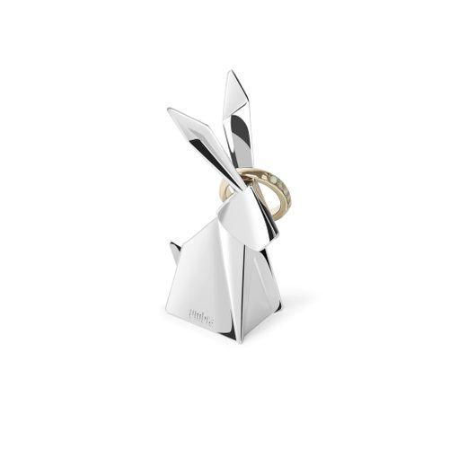 Porta Anel Coelho Origami 8cm