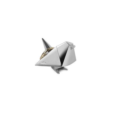 Porta Anel Pássaro Origami 5cm