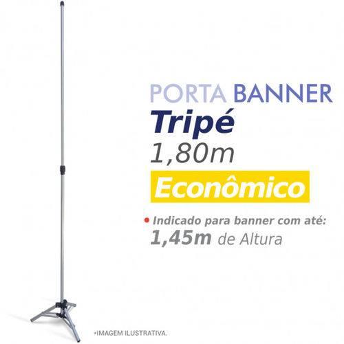 Porta Banner 3G Tripé 1,80m Alumínio