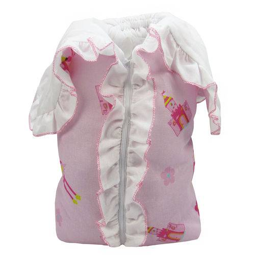 Porta Bebê Feminino Rosa Flamingo