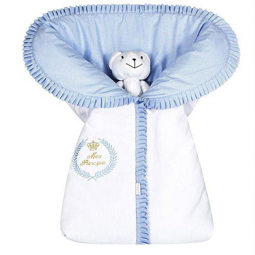 Porta Bebê Meu Príncipe Azul 100% Algodão