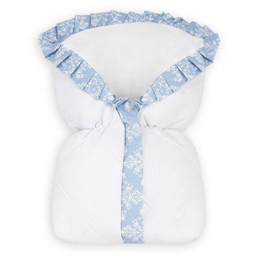 Porta Bebê Provençal Azul