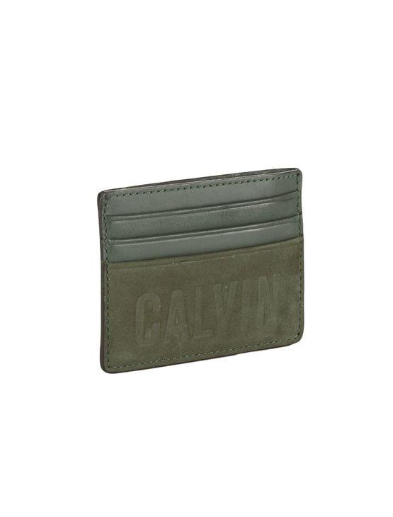 Porta Cartão Calvin Klein Jeans Bold Militar - U