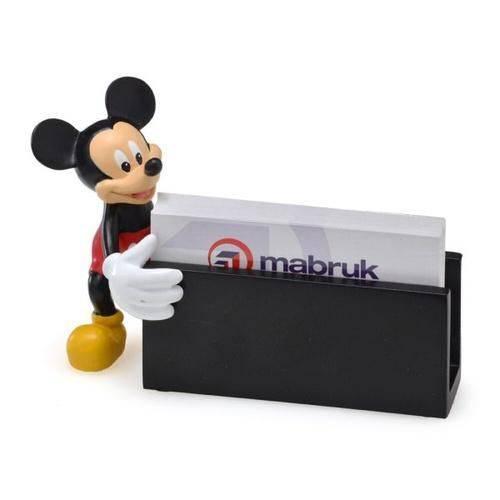 Porta Cartao Mickey - Preto e Vermelho