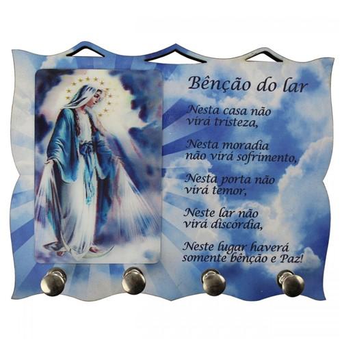 Porta Chave de Nossa Senhora das Graças | SJO Artigos Religiosos