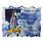 Porta Chave de Nossa Senhora de Fátima   SJO Artigos Religiosos
