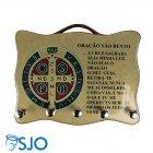 Porta Chave - Medalha de São Bento - 02   SJO Artigos Religiosos