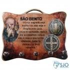 Porta Chave - Medalha de São Bento   SJO Artigos Religiosos