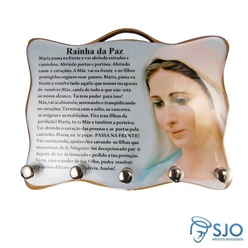 Porta Chave - Rainha da Paz | SJO Artigos Religiosos