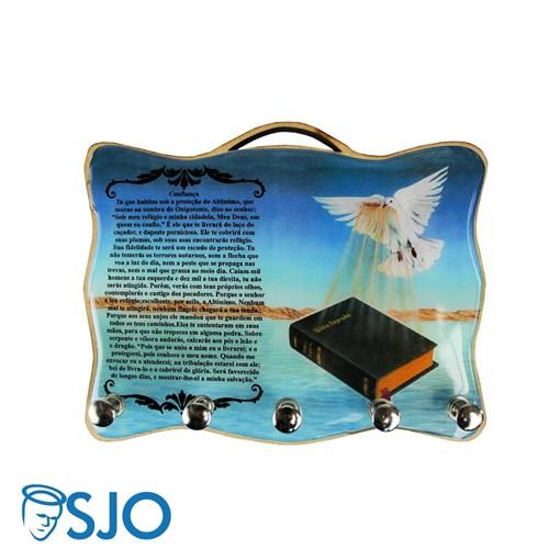 Porta Chave - Salmo 90 | SJO Artigos Religiosos