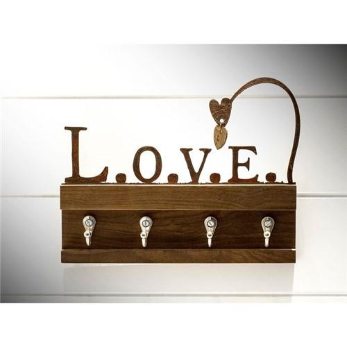 Porta Chaves Ferro Love Ferro