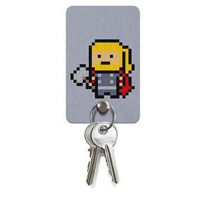 Porta Chaves Thor Pixel Marvel
