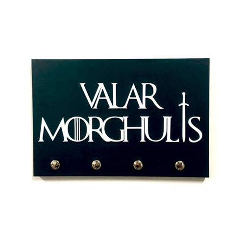 Porta-Chaves Valar Morghulis - Game Of Thrones