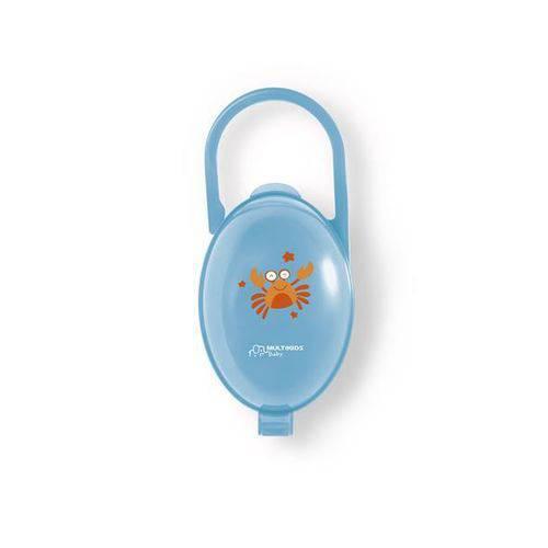Porta Chupeta Azul - Multikids Baby