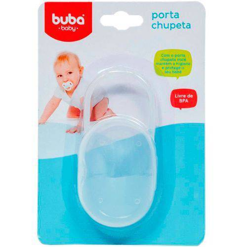 Porta Chupeta Transparente - Buba