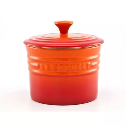 Porta Condimentos Médio Laranja 410ml - Stoneware - Le Creuset